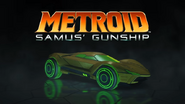Rocket League Metroid Samus's Gunship