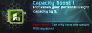 Capacity Boost