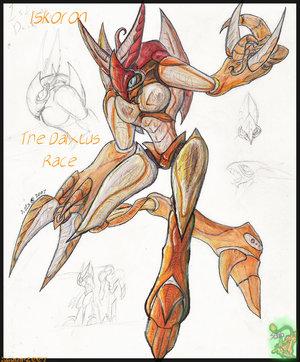 M Hunter Iskoron the Daixtus by SesakaHeart