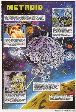 Asteroide Metroid ncs