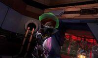 Metroid atacando pirata MPFF