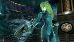 SSB Ultimate Zero Suit Samus in Frigate Orpheon
