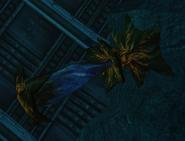 Saco Aqua destruido