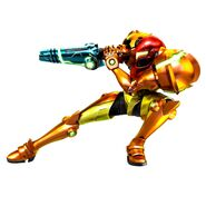 MSR Samus artwork MP1 pose