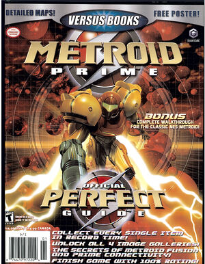 Metroid Prime Official Perfect Guide