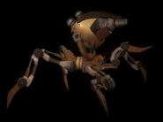 Concepto araña de lata