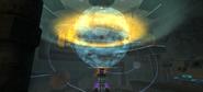 Proyector Holográfico Astronómico encendiéndose