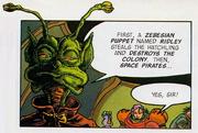 Chairman Keaton SM comic