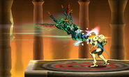 SSB3DS Smash Run Kihunter Stinging Samus