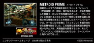 MZM site Metroid Prime description