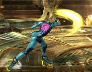 Zero Suit Normal 2nd Attack SSBWU