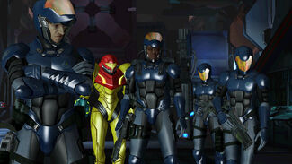 Metroid Other M Federation Soldiers