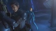 Sector Zero Entrance - Samus asks Adam