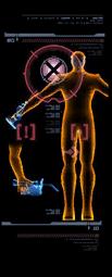 Mecánico escáner derecha mp3