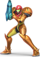 SSB Ultimate Samus render