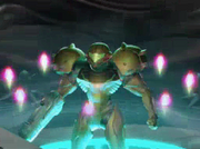 Samus with Eight Octoliths