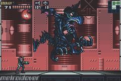 En batalla contra Ridley X