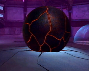Damaged Dark Sphere