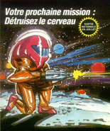 Metroid NES French advert