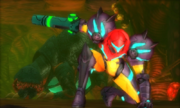 Samus Encounters Queen Metroid 01 MSR