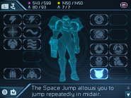 Samus Returns Samus Screen