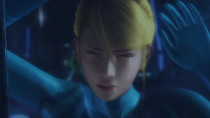 Samus Crying
