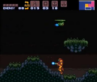 Tripper en Super Metroid