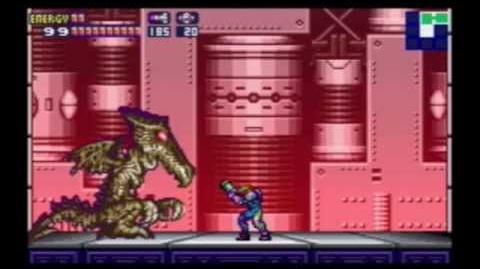 Metroid Fusion - Vs. Ridley X