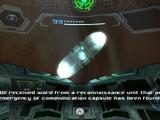 Emergency GF communication capsule