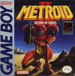 Metroid2 boxart