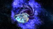 Olympus entering wormhole