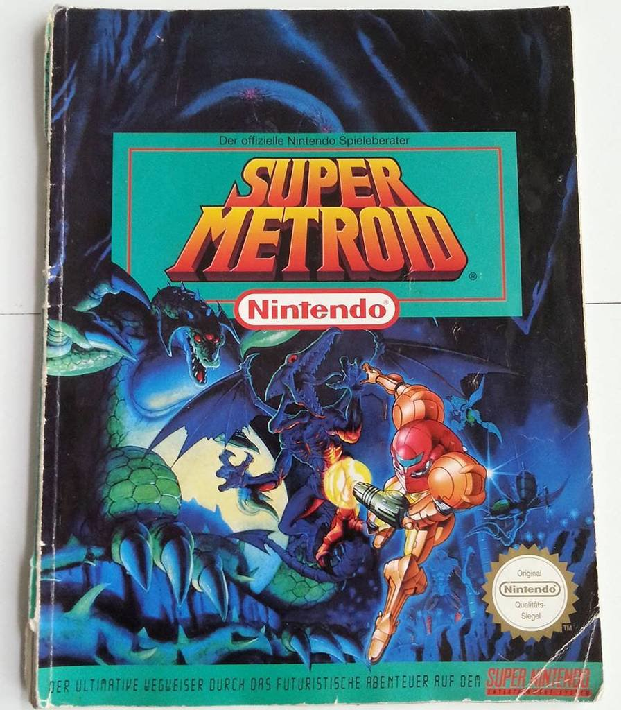 Super Metroid: The Official Nintendo Game Guide (Der offizielle Nintendo  Spieleberater: Super Metroid in German) is the official German strategy  guide for ...