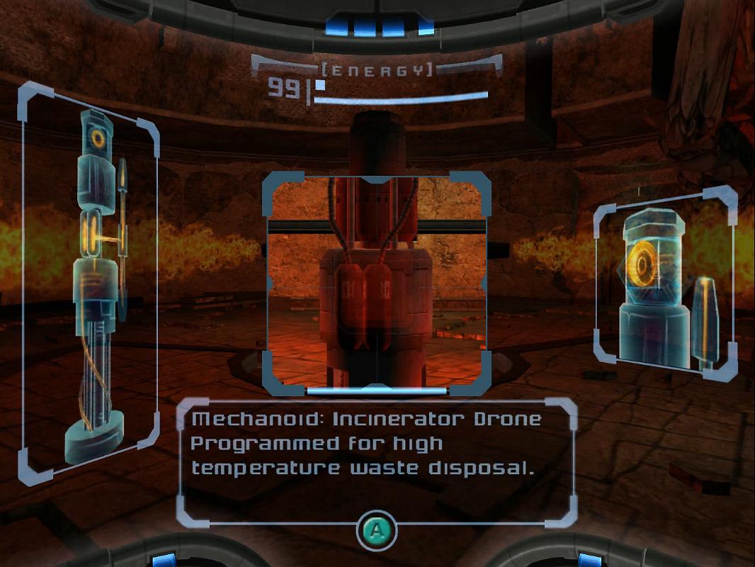 Escaneando el Robot Incinerador