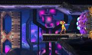 Metroid Samus Returns Door Parasites (Area 4) Gigadora (Spazer Beam Statue Chamber)