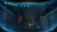 Water-filled tank Search View (underwater)