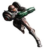 Brawl Sticker Dark Suit Samus (Metroid Prime 2 Echoes)