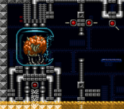 Mother Brain - First Form - Super Metroid