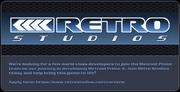 Retro Studios is hiring