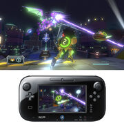 Nintendo land metroid blast screen 2