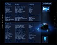 HoaH Track List