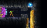 Metroid Samus Returns membrane door