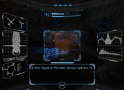 Pirata Omega escaneo proyectil MP