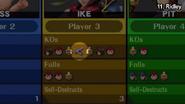 Ridley resultados batalla SSB WiiU