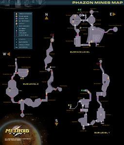 Metroidprime map mines
