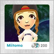 Miitomo Metroid logo shirt