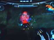 Metroid cazador en las minas de phazon1