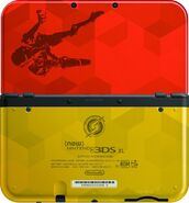 Samus Edition 3DS XL back