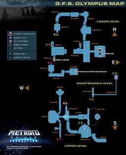 Mapa de la NFG Olimpo MP3