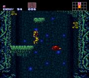 Ripper II en Super Metroid