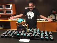 Carlos Zarzuela Sánchez Alpha Metroid cake and cupcakes